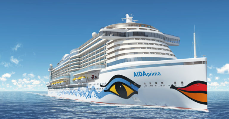 Carnival's Aida Cruises Welcomes First LNG powered Ship